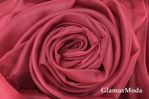 Вуаль цвета марсала шириной 300 см