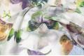 Вуаль с рисунком бабочки №1, 300 см