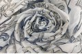 """Вуаль """"Синие цветы"""" , 280 см"""