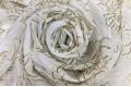 """Вуаль """"Кремовые цветы"""" , 280 см"""