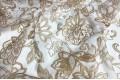 """Вуаль """"Светло-коричневые цветы"""" , 280 см"""