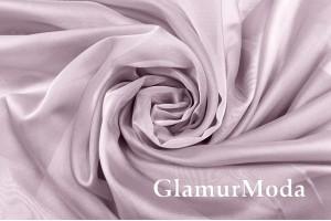 Шелк-вуаль нежно-розовый цвет, с утяжелителем, 330 см, Турция