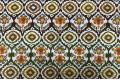 Дак (DUCK) коричневые, жёлтые, оранжевые узоры, 180 см