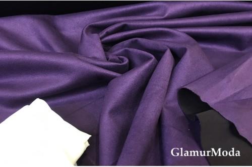 Замша Водолаз фиолетового цвета