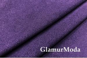 Замша твилл фиолетового цвета